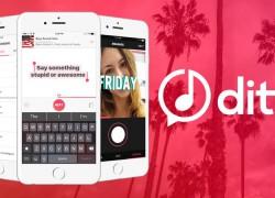 Ditty crea mini-clips musicales con la letra que tú quieras