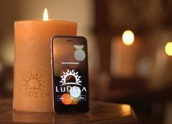 Ludela: una vela de verdad que controlas con tu smartphone