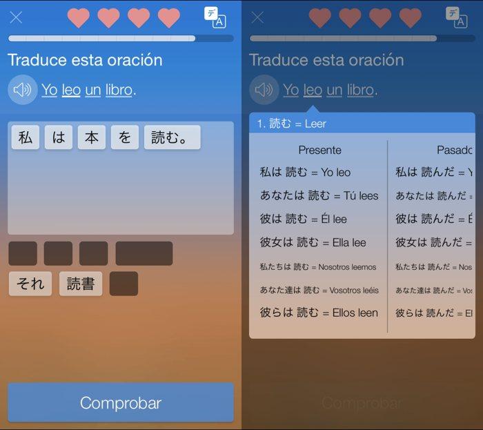 Aprende idiomas en tu móvil con Mondly