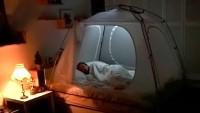 Room in Room: añade una versátil tienda de campaña a tu cama