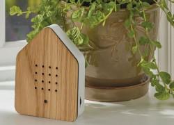 Escucha los pájaros en tu casa con este reproductor portátil activado por movimiento