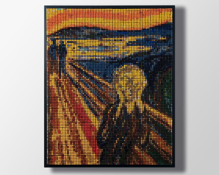 Crayon Art: convierte fotos en mosaicos de ceras