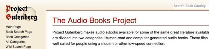 7 páginas web para descargar audiolibros