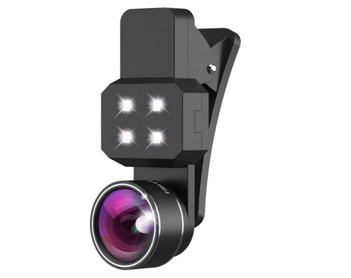 Amplía la cámara de tu smartphone con este kit de lentes de Kootek
