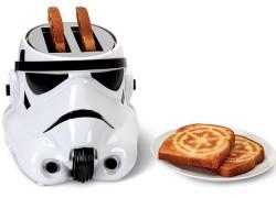 Tostadora de pan con forma de soldado imperial de Star Wars