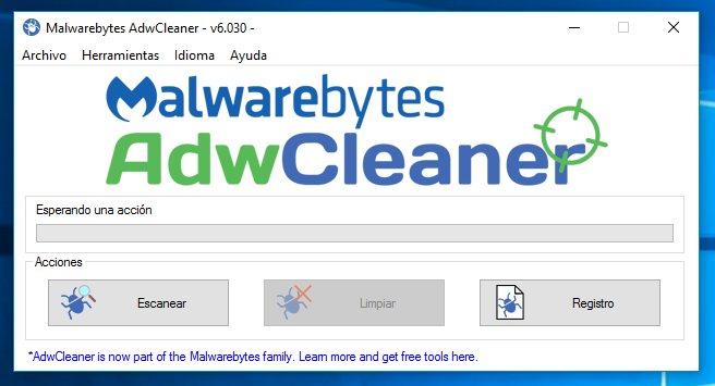 Cómo eliminar adware de tu PC con AdwCleaner