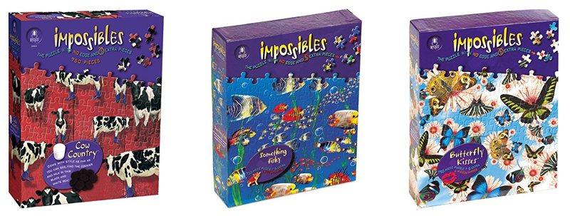 Unos puzles imposibles de resolver... o no