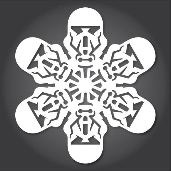Decoración navideña inspirada en Star Wars