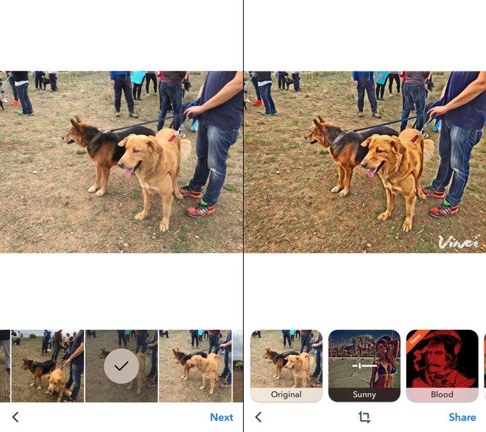 Vinci: añade vistosos filtros artísticos a tus fotos
