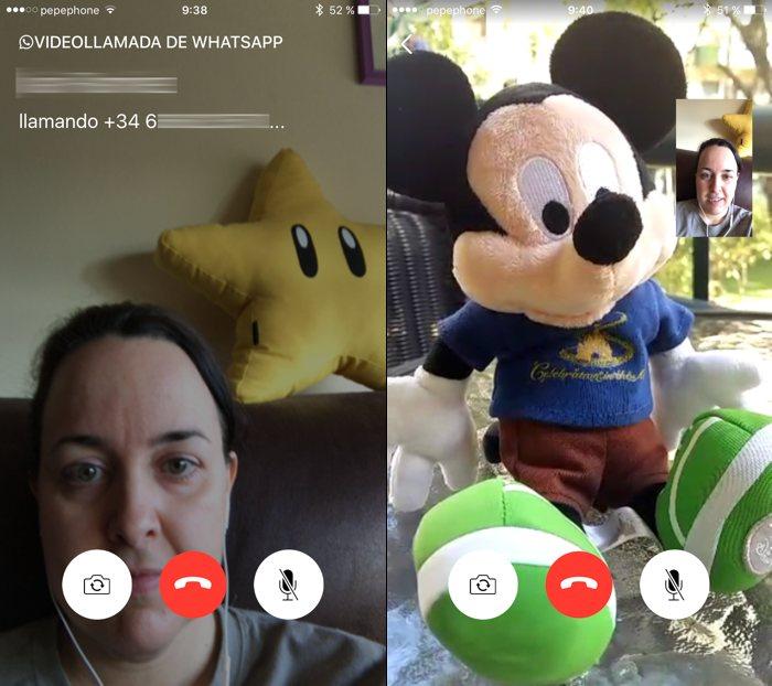 Cómo se usan las videollamadas en WhatsApp