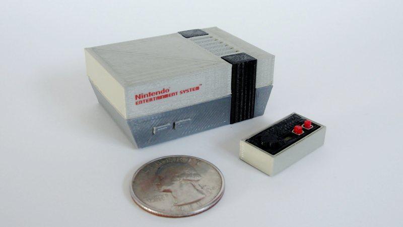Reproducciones a escala de consolas antiguas, ¡adorables!