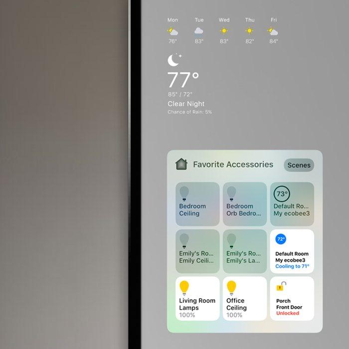 """El """"Apple Mirror"""", un espejo táctil basado en iOS 10"""
