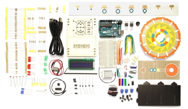 Arduino Basic Kit, el kit para principiantes de Arduino