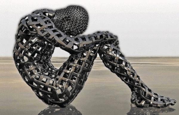 Espectaculares imágenes creadas por un artista ciego