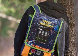Mochila de Space Invaders: ¡Me la pido!
