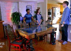 Una mesa de juego a medida para fans de los juegos de rol