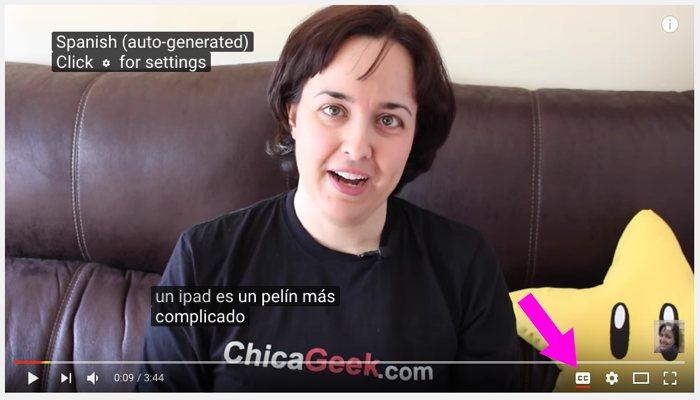 Cómo se utilizan los subtítulos en YouTube