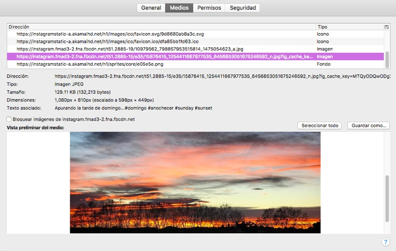 Cómo descargar las fotos de Instagram a alta resolución en tu PC