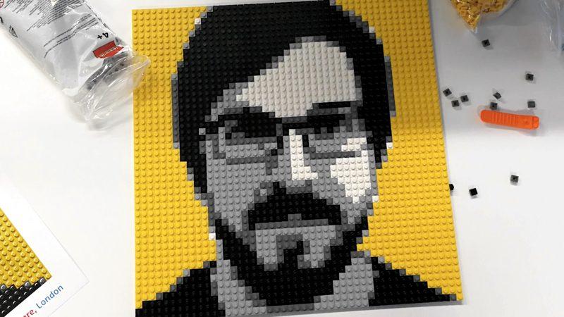 Ahora puedes tener tu retrato hecho con piezas de LEGO