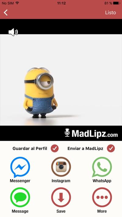 MadLipz: dobla vídeos con tu voz y échate unas risas