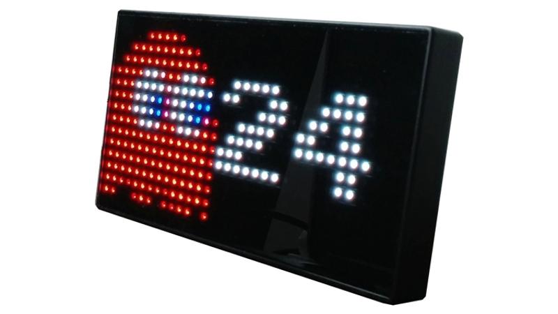 Un reloj animado de Pac-Man ideal para los más geek