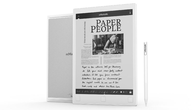 reMarkable, la tablet que quiere ser como el papel