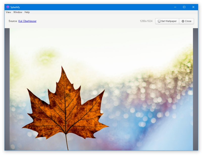 Fondos de pantalla para Windows con Splashify