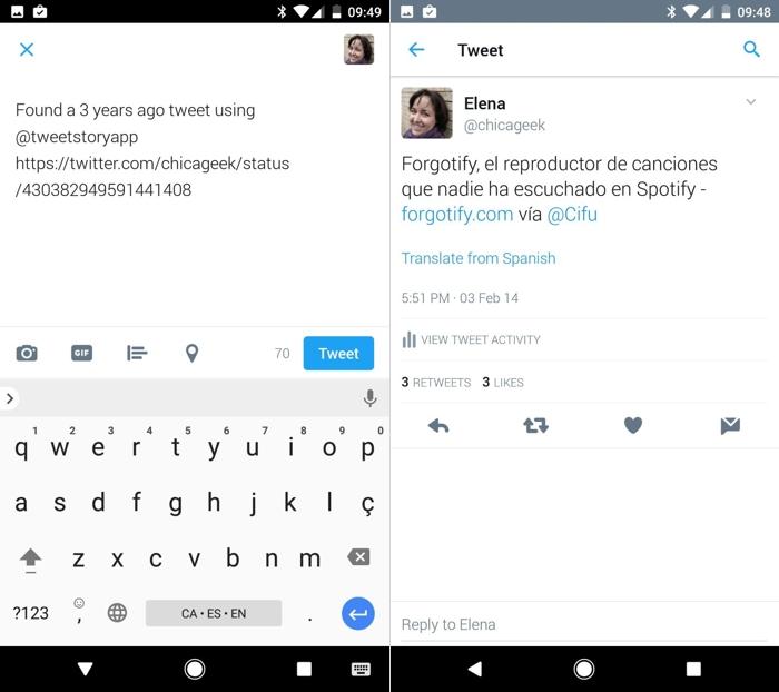 Nostalgia tuitera: busca tus tuits antiguos con TweetStory