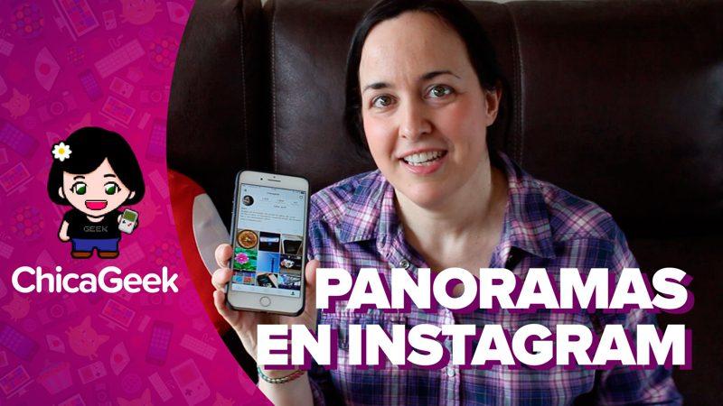 Cómo subir fotos panorámicas a Instagram