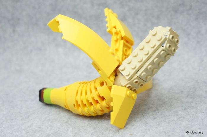 Comida hecha con LEGO, ¡para chuparse los dedos!