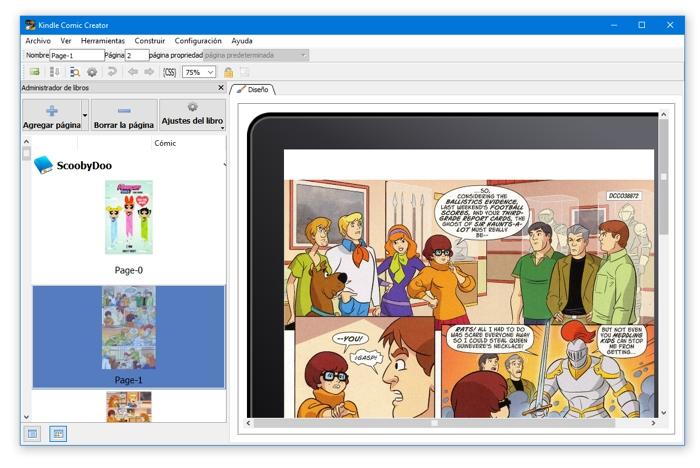 Cómo crear y leer cómics para Kindle con Kindle Comic Creator