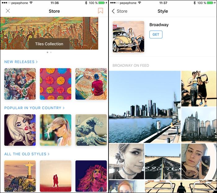 Prisma: cómo descargar nuevos filtros para tus fotos