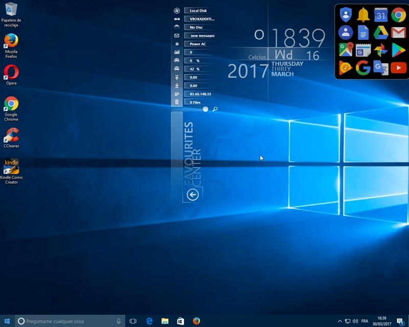 Rainmeter, para personalizar el aspecto de tu escritorio en Windows