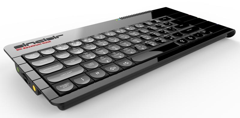 ZX Spectrum Next: vuelve el clásico ordenador de Sinclair