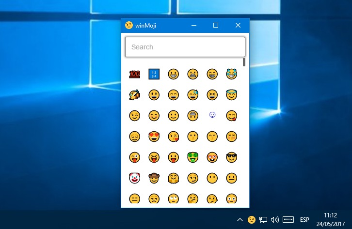 Cómo usar emojis en Windows 10