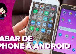 Vídeo: cómo pasar contactos, música y fotos de iPhone a Android