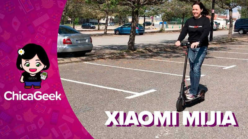 Vídeo: probando el patinete eléctrico Xiaomi Mijia