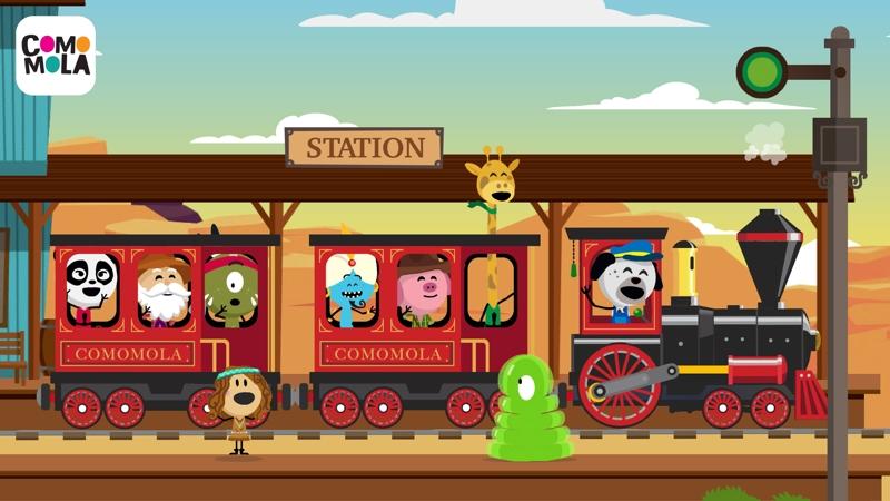 Comomola Far West Train convierte a los niños en maquinistas del Lejano Oeste