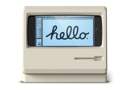 Soporte para iPhone en honor al Mac Classic