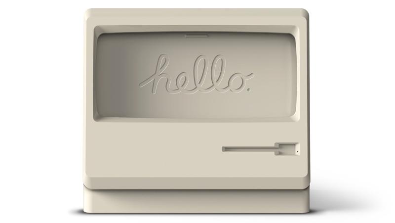 Soporte para iPhone en honor al Mac Classic