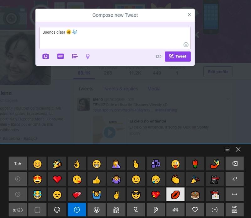 Cómo usar emojis en Windows 10