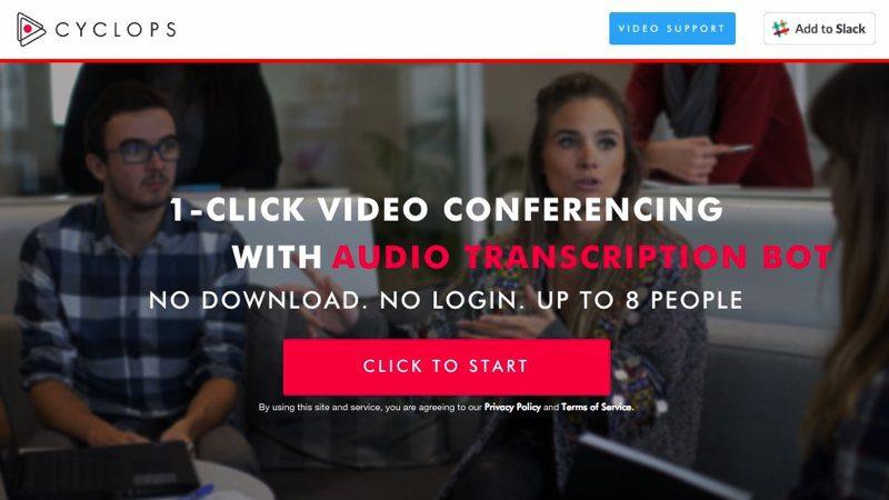 Videoconferencias gratis en tu navegador con Cyclops
