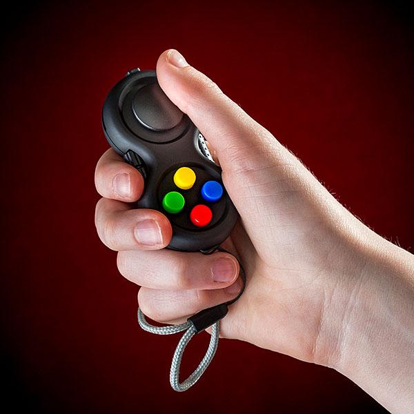 Fidgety Controller, para controlar tu estrés con un mando de consola