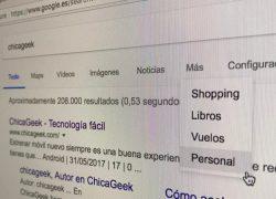 Google añade una pestaña para búsquedas personales