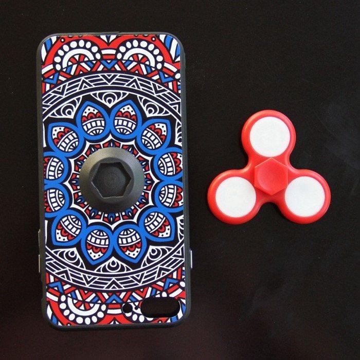 Ahora puedes tener un fidget spinner en la funda de tu móvil