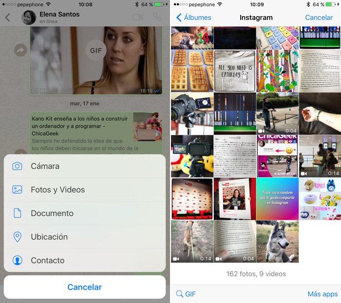 Ya puedes añadir filtros a las fotos en WhatsApp