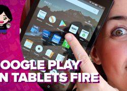 Vídeo: cómo instalar Google Play en tu tablet Fire