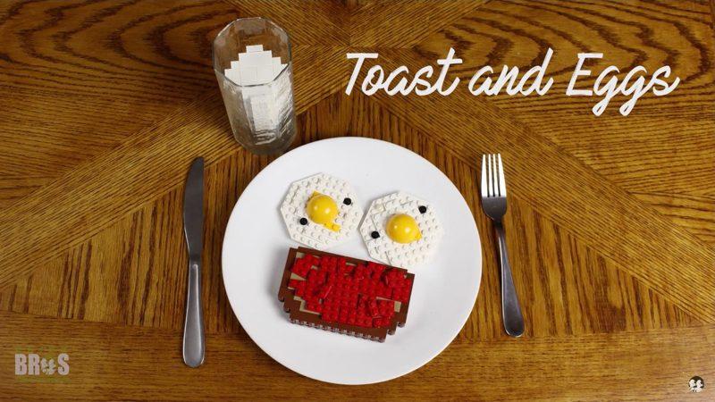 Un desayuno de LEGO