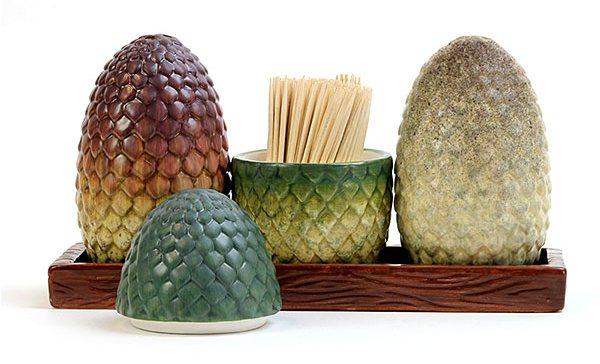 Juego de Tronos también en tu mesa con este set de salero y pimentero
