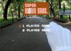 Juega a Super Mario en realidad aumentada